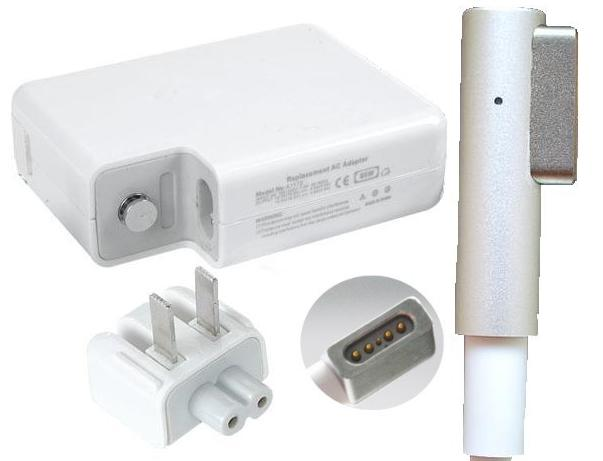 60W 16.5V A1184 L Shape Magsafe Power Adapter for Apple MacBook
