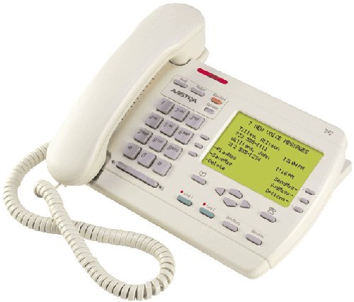 Nortel Aastra Vista 392 Power Touch 392 2-Line Telephone Almond